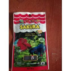 Thức ăn Sakura Gold dành cho cá lia thia 20g