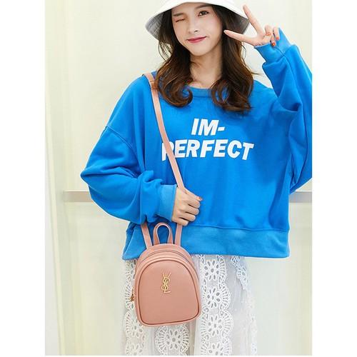Balo mini nữ kiêm túi đeo chéo phong cách Hàn Quốc - 11232688 , 16066229 , 15_16066229 , 205000 , Balo-mini-nu-kiem-tui-deo-cheo-phong-cach-Han-Quoc-15_16066229 , sendo.vn , Balo mini nữ kiêm túi đeo chéo phong cách Hàn Quốc