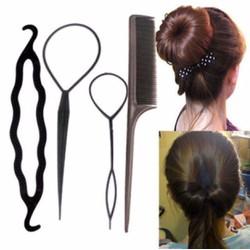 Bộ 4 dụng cụ làm tóc đa năng