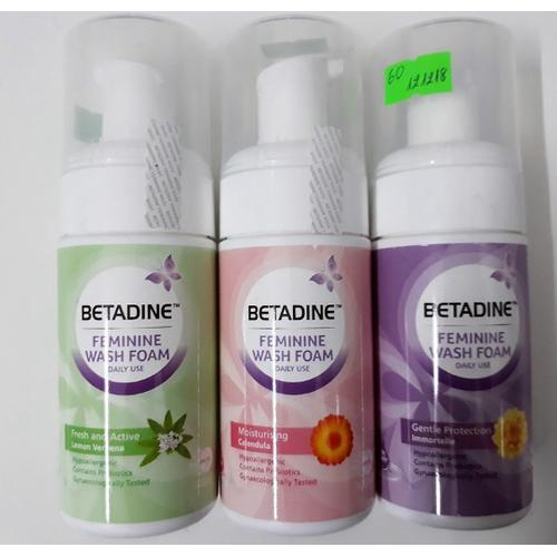 Bọt vệ sinh phụ nữ dạng bọt dịu nhẹ Betadine Feminine Wash Foam - 7537529 , 16073208 , 15_16073208 , 63000 , Bot-ve-sinh-phu-nu-dang-bot-diu-nhe-Betadine-Feminine-Wash-Foam-15_16073208 , sendo.vn , Bọt vệ sinh phụ nữ dạng bọt dịu nhẹ Betadine Feminine Wash Foam