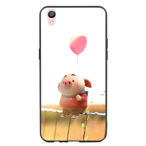 Ốp Lưng Viền TPU cho điện thoại Oppo F1 Plus   Pig 19   chất lượng