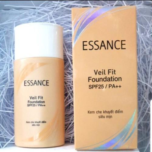 Kem nền trang điểm dưỡng trắng  essance veil fit foundation MÀU TỰ NHIÊN S20PF PA