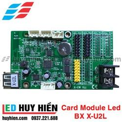 Card BX X-U2L _ Mạch điều khiển Module led BX X-U2L