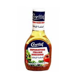 Sốt Salad Crystal Separating Italian Dressing hiệu Chai 236ml