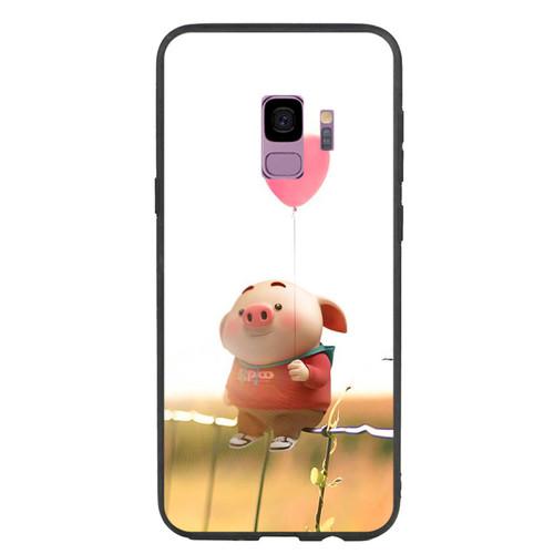 Ốp Lưng Viền TPU cho điện thoại Samsung Galaxy S9   Pig 19   giá tốt