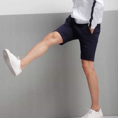 Quần short kaki Lưng thun Co giãn