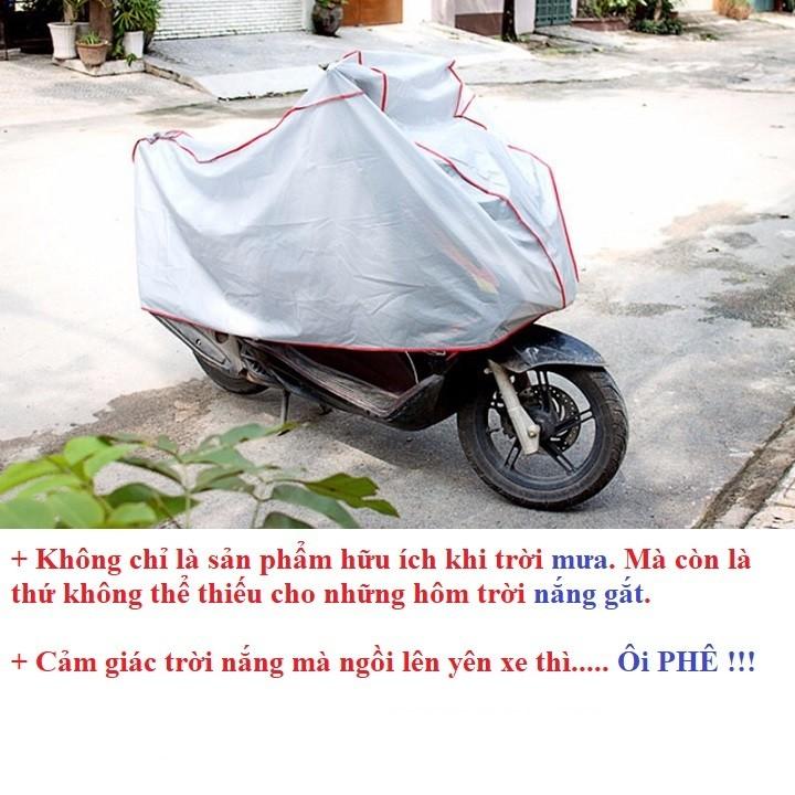 Hình ảnh GIẢM GIÁ CỰC SỐC  Combo 2 áo trùm xe máy - bạt trùm xe máy cao cấp