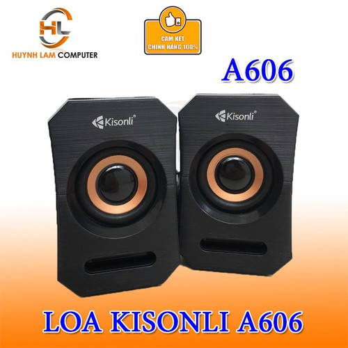 Loa vi tính 2.1 Kisonli A-606 âm thanh mạnh mẽ sôi động như ở bar VSP phân phối