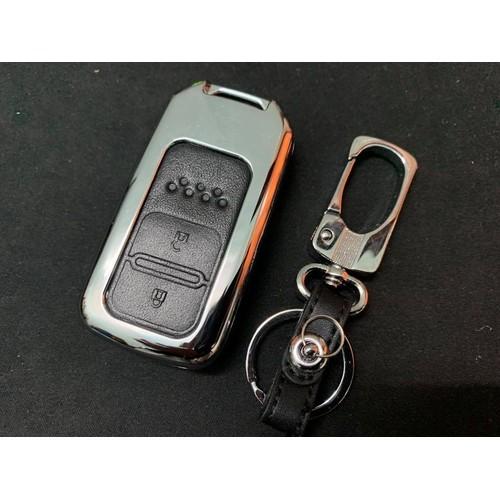Ốp chìa khoá inox cao cấp Honda CRV - 6255304 , 16372991 , 15_16372991 , 237000 , Op-chia-khoa-inox-cao-cap-Honda-CRV-15_16372991 , sendo.vn , Ốp chìa khoá inox cao cấp Honda CRV