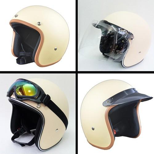 Nón bảo hiểm xe máy 3phần4 đầu chính hảng Nón bảo hiểm xe máy