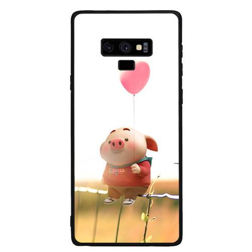 Ốp Lưng Viền TPU cho điện thoại Samsung Galaxy Note 9   Pig 19   chất lượng