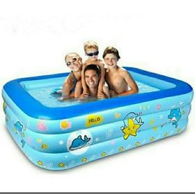 Bể bơi 3 tầng 1m5 - Bể bơi
