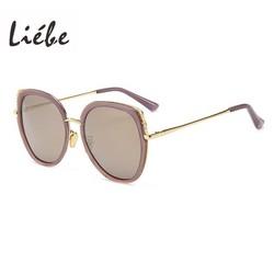 Kính mát nữ chính hãng Liébe phân cực mẫu thiết kế mới từ Italia -mắt lưới