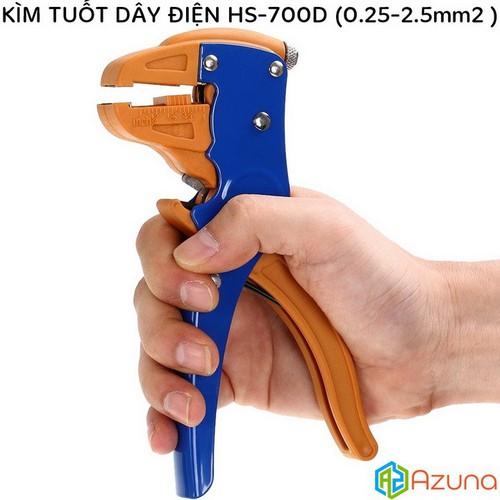Kìm tuốt dây điện HS-700D đường kính dây từ 0.25-2.5mm -  Kềm Tuốt Dây