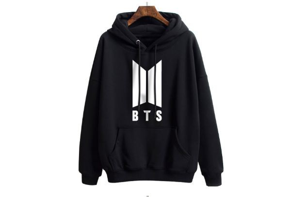 Áo Hoodie BTS - logo mới -Nỉ Dày 2