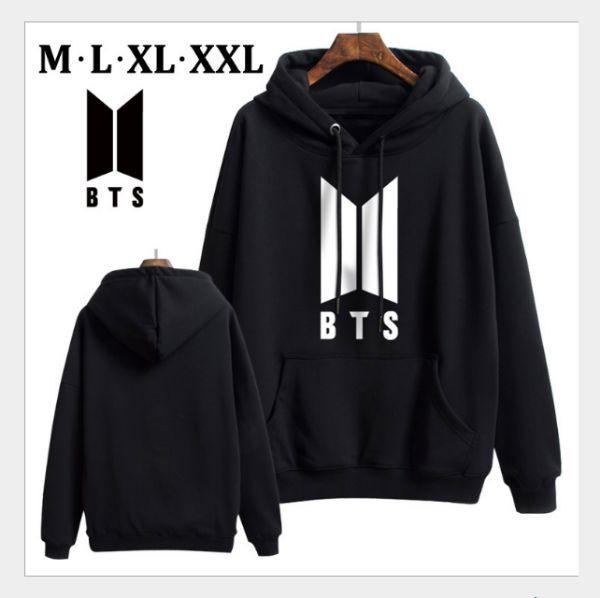Áo Hoodie BTS - logo mới -Nỉ Dày 1