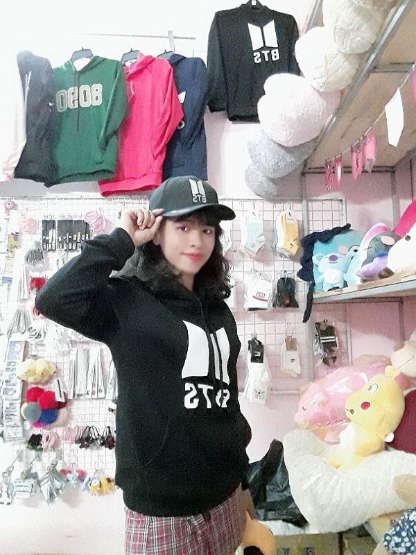 Áo Hoodie BTS - logo mới -Nỉ Dày 6