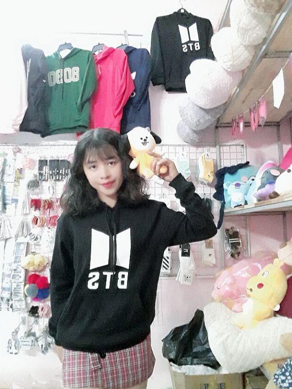 Áo Hoodie BTS - logo mới -Nỉ Dày 5