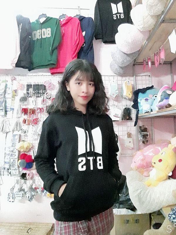 Áo Hoodie BTS - logo mới -Nỉ Dày 4