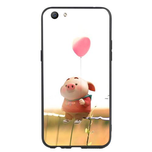 Ốp Lưng Viền TPU cho điện thoại Oppo F3   Pig 19   chất lượng