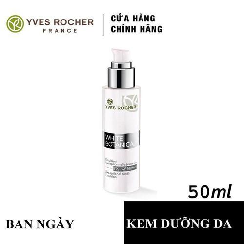 Dưỡng da ban ngày  Làm sáng và trẻ hóa da Yves Rocher Exxeptional Youth Emulsion  SPF30 PA+++ 50M ml