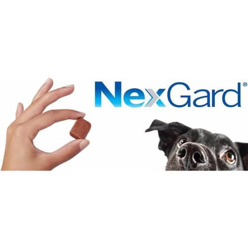 Nexgard trị ve rận bọ chét ký sinh trùng viêm da ghẻ demodex cho chó 1