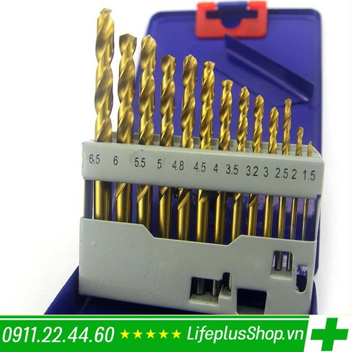 Bộ mũi khoan sắt 13 mũi c-mart - 17024644 , 16370912 , 15_16370912 , 150000 , Bo-mui-khoan-sat-13-mui-c-mart-15_16370912 , sendo.vn , Bộ mũi khoan sắt 13 mũi c-mart