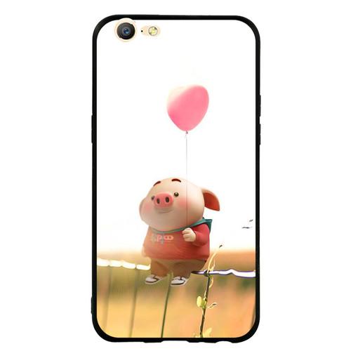 Ốp Lưng Viền TPU cho điện thoại Oppo F3 Lite A57   Pig 19   chất lượng