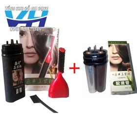Bộ lược nhuộm + lõi thuốc thay thế lược nhuộm tóc thông minh AILIANG - bo luoc kem loi