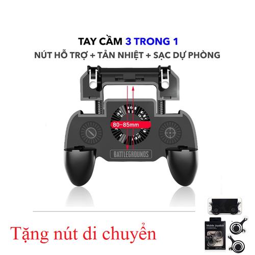 Tay Cầm Chơi Game Mobile Tích Hợp Tản Nhiệt Và Sạc Dự Phòng tặng nút joystick - 6266832 , 16383250 , 15_16383250 , 250000 , Tay-Cam-Choi-Game-Mobile-Tich-Hop-Tan-Nhiet-Va-Sac-Du-Phong-tang-nut-joystick-15_16383250 , sendo.vn , Tay Cầm Chơi Game Mobile Tích Hợp Tản Nhiệt Và Sạc Dự Phòng tặng nút joystick