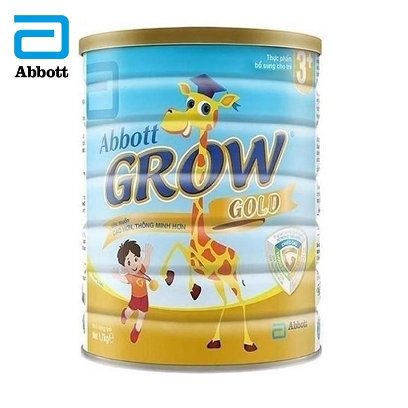 Sữa bột Abbott Grow Gold 3+hương vani 1.7kg - GRO016386