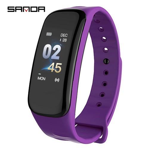 Vòng tay thông minh SANDA C1 theo dõi sức khỏe thể thao giấc ngủ nhịp tim smart band wearfit - 6247441 , 16366744 , 15_16366744 , 625000 , Vong-tay-thong-minh-SANDA-C1-theo-doi-suc-khoe-the-thao-giac-ngu-nhip-tim-smart-band-wearfit-15_16366744 , sendo.vn , Vòng tay thông minh SANDA C1 theo dõi sức khỏe thể thao giấc ngủ nhịp tim smart band wea