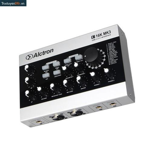 Sound Card Hát Karaoke - Alctron U16K M.K 3