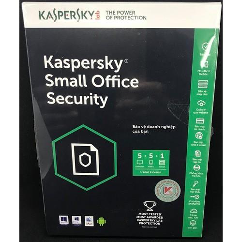 Kaspersky phần mềm diệt virus Kaspersky Small Office Security 1 Server + 5 PCs chính hãng