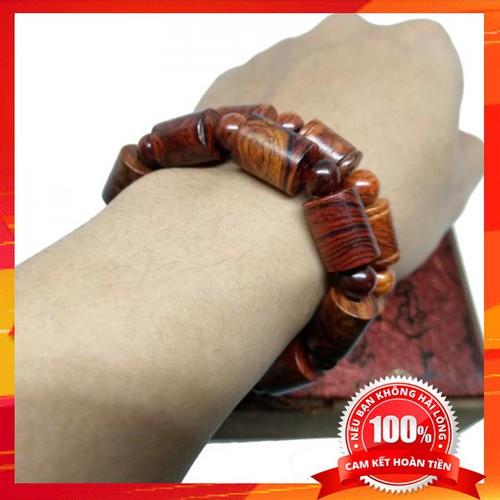 Vòng tay gỗ sưa đỏ Quảng Bình 10mm