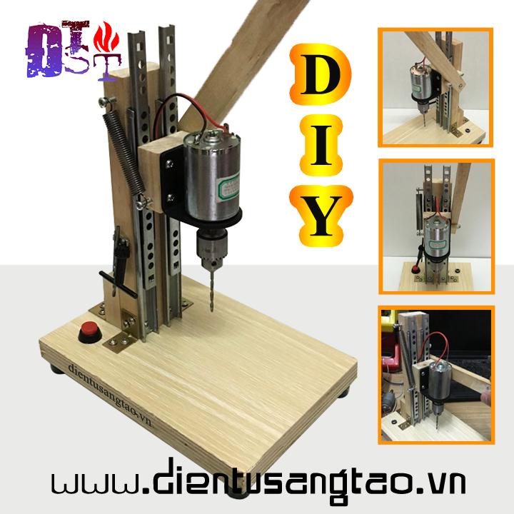 Máy khoan bàn DIY KST-286 (Chưa bao gồm nguồn)
