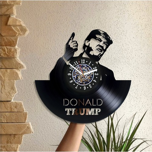 Đồng hồ Donald Trump,Đồng hồ treo tường - 6525419 , 16601920 , 15_16601920 , 350000 , Dong-ho-Donald-TrumpDong-ho-treo-tuong-15_16601920 , sendo.vn , Đồng hồ Donald Trump,Đồng hồ treo tường