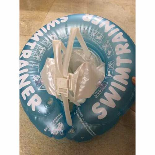 Phao tập bơi chống lật màu xanh cho bé