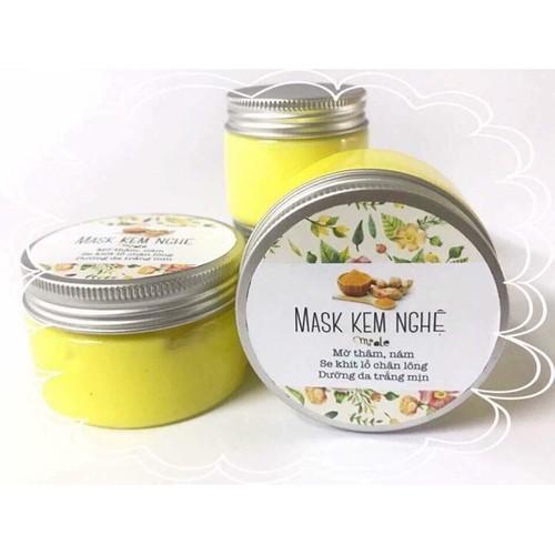 Kem mask nghệ sữa ong chúa hộp 75g thơm xịn