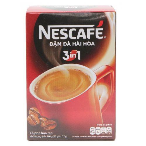 Cafe hòa tan 3in1 đậm đà hài hòa Nescafe hộp 20 gói x 17g - 4730733 , 16593188 , 15_16593188 , 55000 , Cafe-hoa-tan-3in1-dam-da-hai-hoa-Nescafe-hop-20-goi-x-17g-15_16593188 , sendo.vn , Cafe hòa tan 3in1 đậm đà hài hòa Nescafe hộp 20 gói x 17g