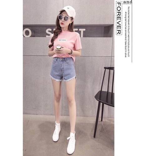 Quần short jean nữ cute - 6513938 , 16593920 , 15_16593920 , 95000 , Quan-short-jean-nu-cute-15_16593920 , sendo.vn , Quần short jean nữ cute
