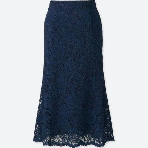Chân váy ren nữ màu 69 Navy mã 409574 - hàng nhập Nhật