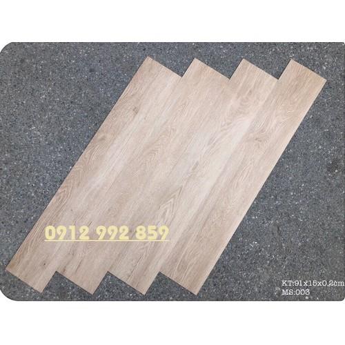 Combo 7 miếng sàn nhựa giả gỗ keo tự dán MS03.1