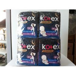 Băng vệ sinh Kotex đêm 28cm giá sỉ lốc 8 gói