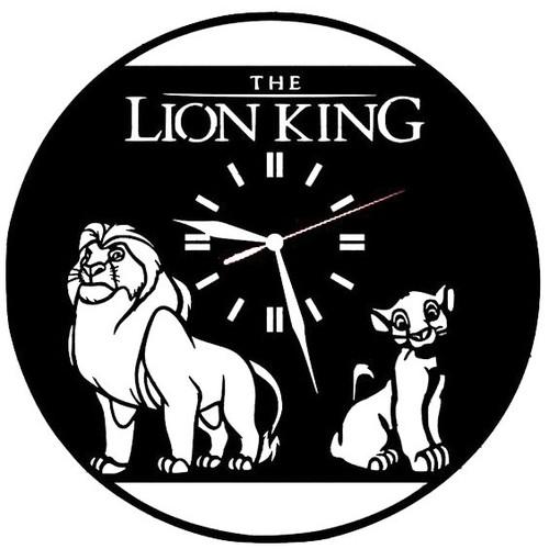 Đồng hồ treo tường,Đồng hồ Lion King, nội thất đẹp, nội thất phong cách, đồng hồ đẹp