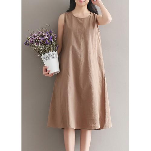 Đầm suông sát nách Lâm Anh shop