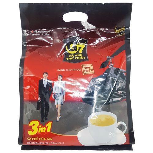 Cà phê sữa hòa tan 3in1 G7 túi 50 gói x 16g - 4730832 , 16593331 , 15_16593331 , 139000 , Ca-phe-sua-hoa-tan-3in1-G7-tui-50-goi-x-16g-15_16593331 , sendo.vn , Cà phê sữa hòa tan 3in1 G7 túi 50 gói x 16g