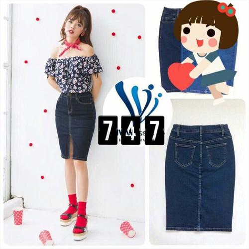Chân váy jean nữ trẻ trung