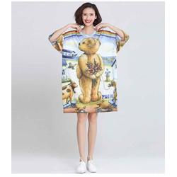 thời trang nữ big size đầm suông size đại 90-115kg