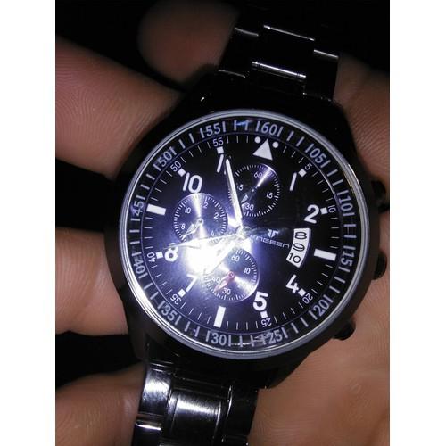 Đồng hồ nam đẹp bền thời trang cao cấp chính hãng Lagmeey Dây thép ko gỉ - Đồng hồ titan nam chính hãng - đồng hồ thời trang giá rẻ cho nam dưới 150k chống trầy,chống nước